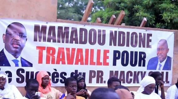 """[VIDEO] POLITIQUE: Mamadou Ndione, Responsable politique APR Diass et DG COSEC: """"Sonko veut rattraper les autres par le buzz""""."""