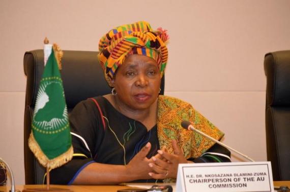 La présidente de la Commission de l'UA préoccupée par la situation au Burkina Faso