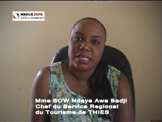 [VIDEO] Présentations de vœux: Ndèye Awa BADJI, Chef du Service Régional du Tourisme de Thiès
