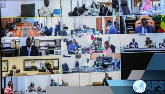 VOICI LE COMMUNIQUÉ DU CONSEIL DES MINISTRES DU MERCREDI 8 AVRIL 2020