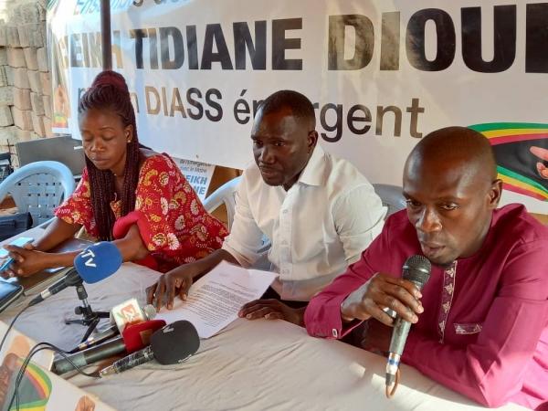 POLITIQUE - ELECTIONS LOCALES DU 23 JANVIER 2022 : les jeunes de Diass avertissent les candidats qui ne vivent pas dans la commune.