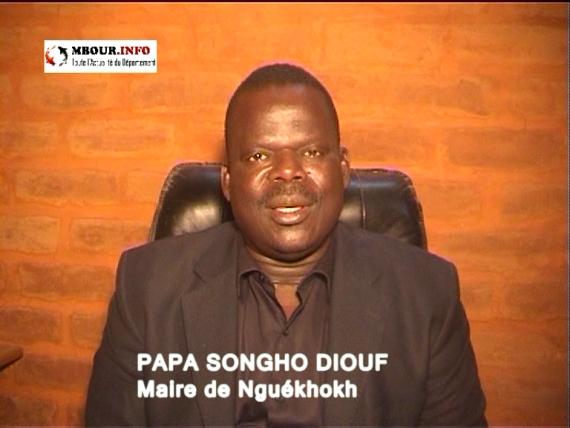 [VIDEO] Présentations de vœux: Papa Songho Diouf, Maire de la Commune Nguékhokh