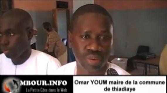 [Video] Omar YOUM maire de la commune de Thiadiaye