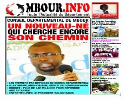 HORS SERIE : JOURNAL MBOUR INFO DANS VOS KIOSQUES !!!