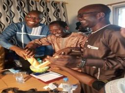 POLITIQUE : A Mbour, Saliou Samb et El Hadji Guèye matérialisent le ''Mbourok soow'' local.