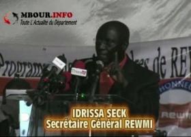 [VIDEO] POLITIQUE - PARRAINAGE: Idrissa Sek met en garde le Président Macky Sall