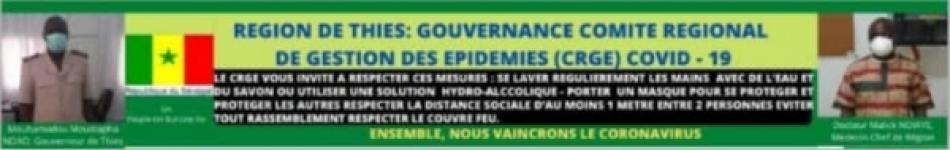 LA REGION MEDICALE ET LE GOUVERNEUR SENSIBILISENT