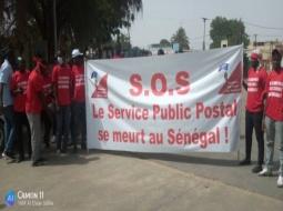 MBOUR – MENACES DE DEFLATION DE 2000 AGENTS : les postiers marchent pour sauver leur emploi.