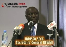 [VIDEO] POLITIQUE: Idrissa Seck dénonce des manigances du Ministre du Tourisme pour contrecarrer le séminaire des cadres de son parti.