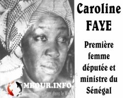 Mbour : Caroline Faye Diop, Première femme députée et ministre du Sénégal