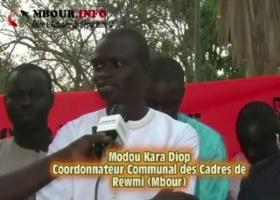 [VIDEO] MBOUR: Les Cadres de Rewmi participent à l'élaboration du programme d'Idrissa Seck