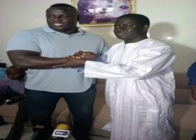 Lutte : Bombardier  en communion avec Cheikh Issa Sall